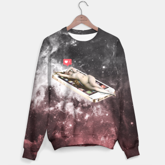 Thumbnail image of Lost in Instagram Sweater, Live Heroes
