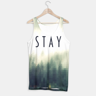 Miniatur S T A Y Tank Top, Live Heroes