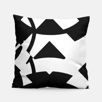Thumbnail image of Dirty Black White Girl Pattern  Pillow, Live Heroes