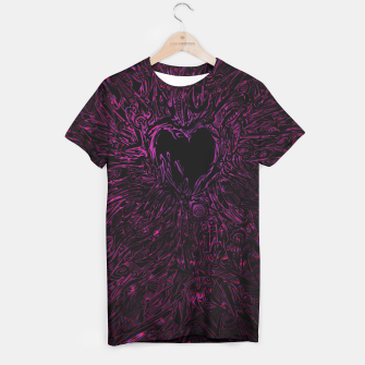 Thumbnail image of Pink Thorny Heart T-shirt, Live Heroes