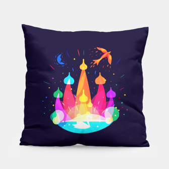 Thumbnail image of Russian Fairytale Pillow, Live Heroes