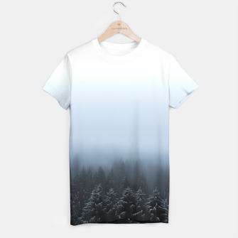 Thumbnail image of Derealised - winter forrest T-shirt, Live Heroes