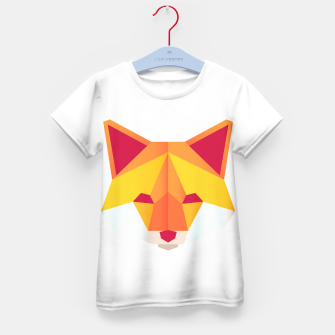 Thumbnail image of Foxy Kid's T-shirt, Live Heroes