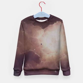 Thumbnail image of Star formation Kid's Sweater, Live Heroes