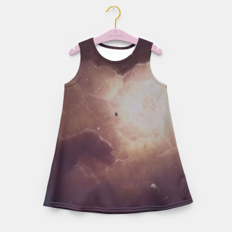 Thumbnail image of Star formation Girl's Summer Dress, Live Heroes