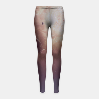 Thumbnail image of Star formation Girl's Leggings, Live Heroes