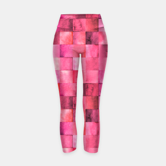 Thumbnail image of Modern Abstract Design Yogahose, Live Heroes
