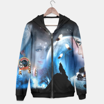 Thumbnail image of Sounds of a Dream-Catcher Hoodie, Live Heroes