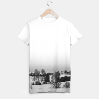 Thumbnail image of Ascended - Snowfield  T-shirt, Live Heroes