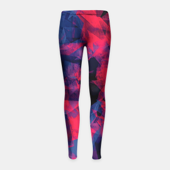 Crystal Cave Girl's Leggings Bild der Miniatur