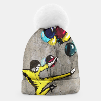 Thumbnail image of Kick-Ass Graffiti Beanie, Live Heroes