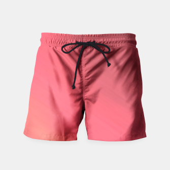 Miniatur Colorful Red brown hazy pattern . Swim Shorts, Live Heroes