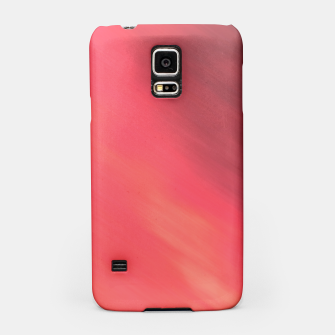 Miniatur Colorful Red brown hazy pattern . Samsung Case, Live Heroes
