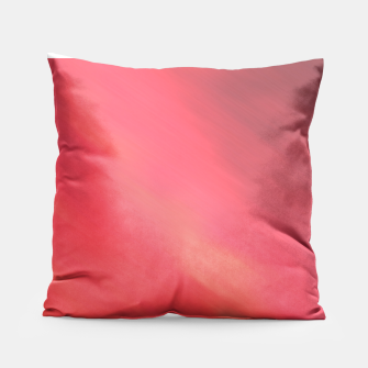 Miniatur Colorful Red brown hazy pattern . Pillow, Live Heroes