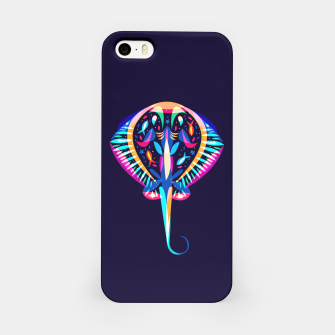 Thumbnail image of psychedelic ray iPhone Case, Live Heroes