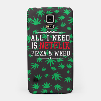 Thumbnail image of WEED & NETFLIX Samsung Case, Live Heroes