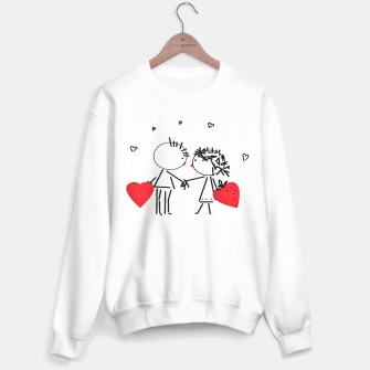 Thumbnail image of Valentine's day . Love . Humor , heart , holiday , gift Sweater, Live Heroes