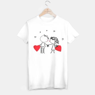 Thumbnail image of Valentine's day . Love . Humor , heart , holiday , gift T-shirt, Live Heroes