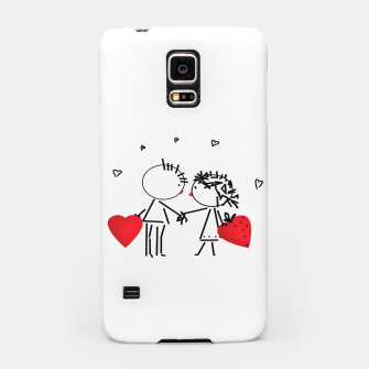 Thumbnail image of Valentine's day . Love . Humor , heart , holiday , gift Samsung Case, Live Heroes