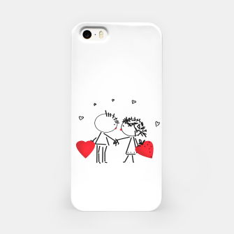 Thumbnail image of Valentine's day . Love . Humor , heart , holiday , gift iPhone Case, Live Heroes