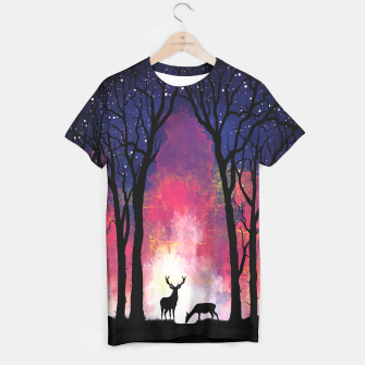 Thumbnail image of Deer in the Forest Camiseta, Live Heroes
