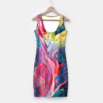 Miniatur Bird Flower - Rainbow Abstraction. Simple Dress, Live Heroes