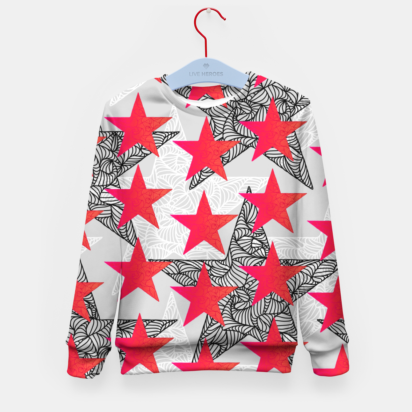 Image of s3 Kid's Sweater - Live Heroes