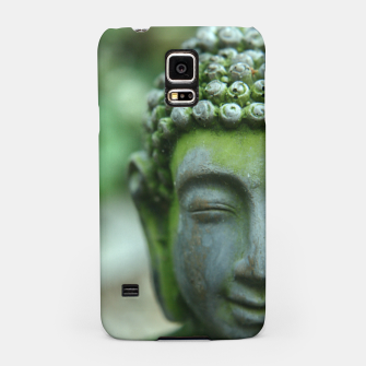 Miniatur The Mind of Buddha Spiritual Buddhism Yoga  Samsung Case, Live Heroes