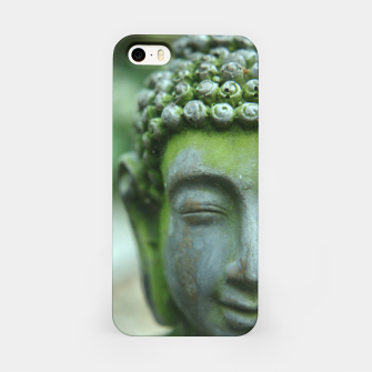 Miniatur The Mind of Buddha Spiritual Buddhism Yoga  iPhone Case, Live Heroes