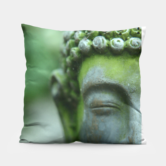 Miniatur The Mind of Buddha Spiritual Buddhism Yoga  Pillow, Live Heroes