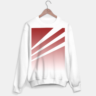 Thumbnail image of White Stripes Red Sky Sweater regular, Live Heroes