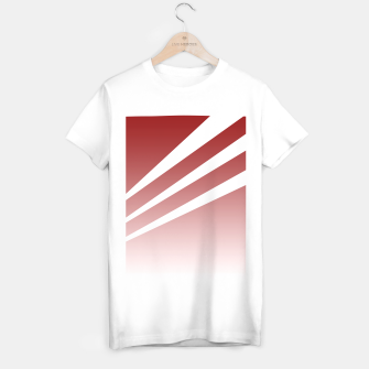 Thumbnail image of White Stripes Red Sky T-shirt regular, Live Heroes