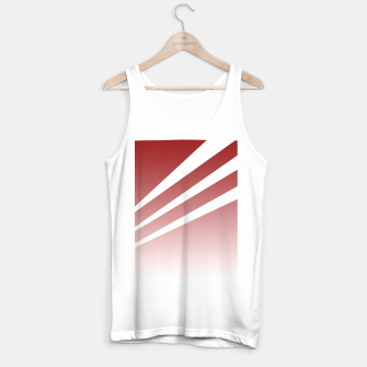 Thumbnail image of White Stripes Red Sky Tank Top regular, Live Heroes