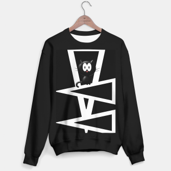 Thumbnail image of Kitty On Triangles Sweater regular, Live Heroes