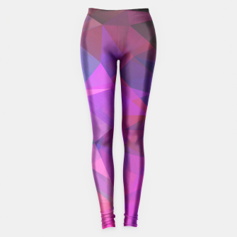 Miniaturka Multicolored abstract pattern . A firework of colors . Leggings, Live Heroes