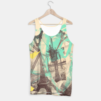 Miniature de image de Paris Inception Tank Top, Live Heroes