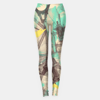 Thumbnail image of Paris Inception Leggings, Live Heroes