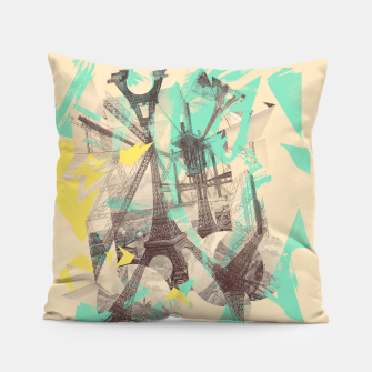 Thumbnail image of Paris Inception Pillow, Live Heroes