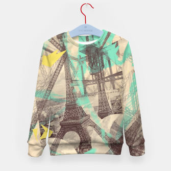 Miniature de image de Paris Inception Kid's Sweater, Live Heroes