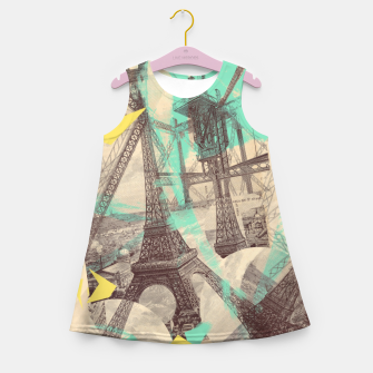 Thumbnail image of Paris Inception Girl's Summer Dress, Live Heroes