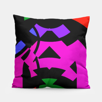 Thumbnail image of Purple Raspberry Zigzag Pattern  Pillow, Live Heroes
