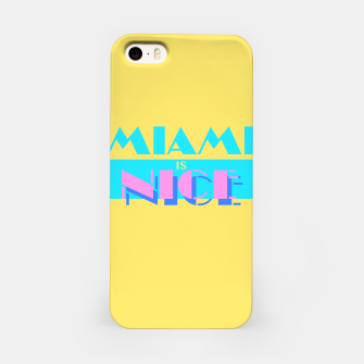 Thumbnail image of MIAMI IS NICE iPhone Case, Live Heroes