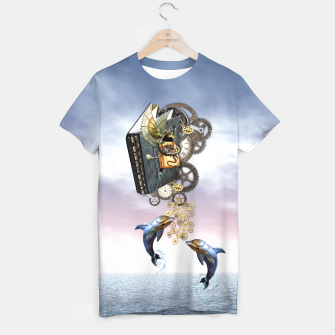 Thumbnail image of Steampunk ocean story tale T-shirt, Live Heroes