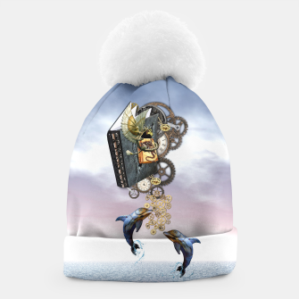 Thumbnail image of Steampunk ocean story tale Beanie, Live Heroes