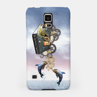 Thumbnail image of Steampunk ocean story tale Samsung Case, Live Heroes