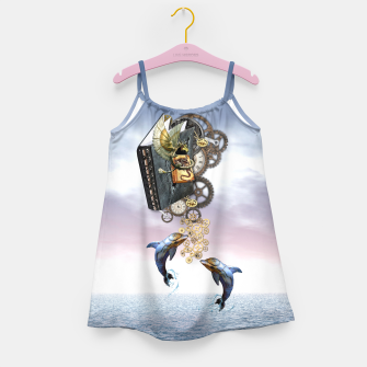 Thumbnail image of Steampunk ocean story tale Girl's Dress, Live Heroes