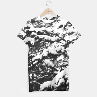 Thumbnail image of Ascended - snow tree1 T-shirt, Live Heroes