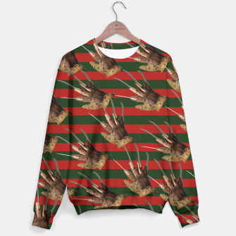 Thumbnail image of freddy krueger clothes Sweater, Live Heroes