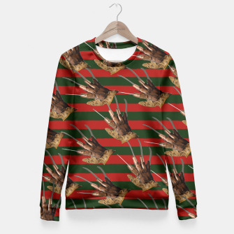 Thumbnail image of freddy krueger clothes Fitted Waist Sweater, Live Heroes