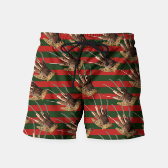Thumbnail image of freddy krueger clothes Swim Shorts, Live Heroes